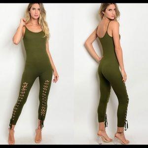 NWT Love J jumpsuit size s/m/l